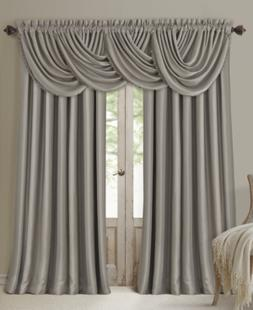 "Elrene All Seasons Blackout Waterfall 52"" x 36"" Valance Bedd"