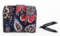 Bella Taylor Serafina Quilted Cotton Small Wallet