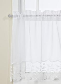 Lorraine Home Fashions Seville Tier Curtain Pair, 60 by 36-I