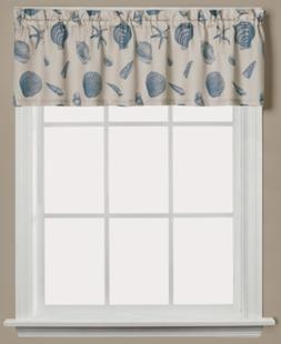 seychelles graphic print valance bedding