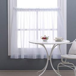 "NICETOWN 36"" Sheer Curtains for Kitchen - Window Treatment P"