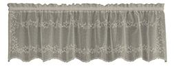 Heritage Lace Sheer Divine Valance, 60 by 16-Inch, Ecru
