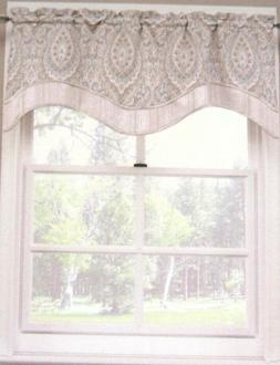 """Waverly Home Silk Road Paisley Floral Kristy Valance  52"""" W"""