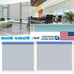 Silver-Coated Roller Window Blind Sunscreen Blackout UV Shad