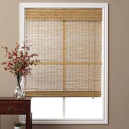 Single Piece Brown Tuscan Bamboo 19 Inch. x 74 Inch Long Rom