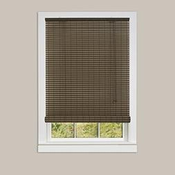 Single Piece 60x72 Cocoa Almond Roll-up Blind, Includes Hard