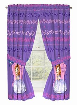 Disney Junior Sofia The First Graceful Drapery/Curtain 4pc S