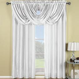 Exquisite Draperies Soho Rod Pocket Faux Silk Window Treatme