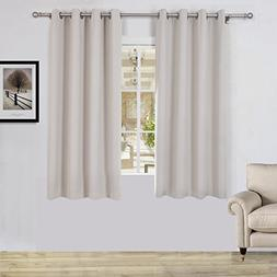 Lullabi Solid Thermal Blackout Window Curtain Drapery, Gromm