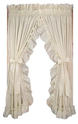 Window Toppers Stephanie Country Style Ruffle Priscilla Curt