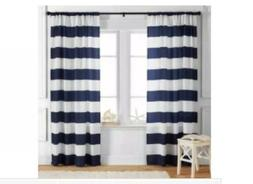 "Better Homes and Gardens Stripes Curtain Panel, 52"" x 84"", N"