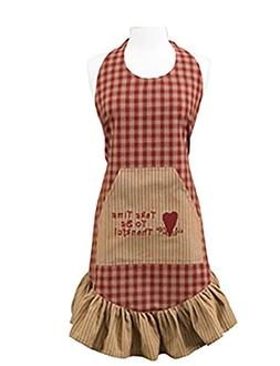 Park Designs Sturbridge Prairie Wine Apron