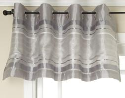 Stylemaster Fiesta Faux Silk Grommet Valance with Sequin Org