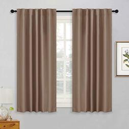 RYB HOME Black Out Insulated Curtains Room Darkening Drapes