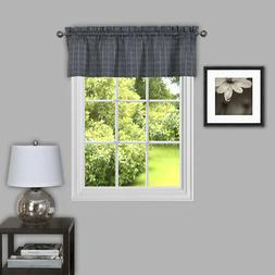 "Achim Home Furnishings Sydney Window Curtain Valance, 58"" x"