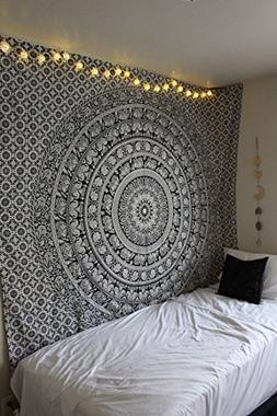 Popular Handicrafts tapestry wall hangings Black and White H