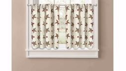 Better Homes and Gardens Texas Stars Kitchen Curtains  wm9 m