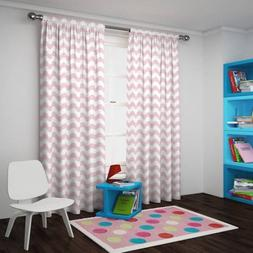 42x84 Eclipse Thermaback Blackout Wavy Chevron Curtain Panel