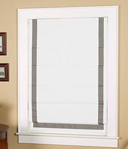Green Mountain Vista Thermal Blackout Cordless Roman Shade w