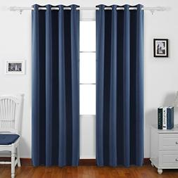Deconovo Thermal Insualted Blackout Curtains Light Blocking