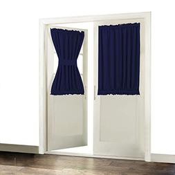 Aquazolax Thermal Insualted French Door Curtain Drapes Ready