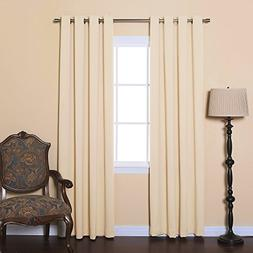 Best Home Fashion Thermal Insulated Blackout Curtain - Stain