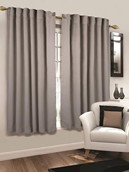 Tailormader 2 Piece Top Thermal Insulated Blackout Curtain H