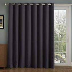 Thermal Insulated Blackout Patio Door Curtain Panel Sliding