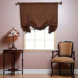 Best Home Fashion Thermal Insulated Blackout Tie-Up Window S