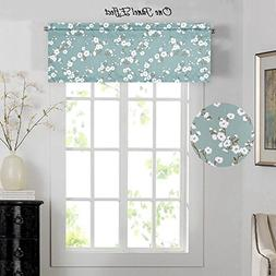 H.VERSAILTEX Thermal Insulated Curtain Valances for Kitchen/