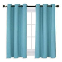 NICETOWN Thermal Insulated Curtains Blackout Draperies, Wind