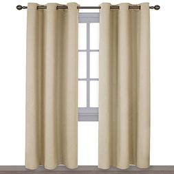 NICETOWN Thermal Insulated Eyelet Top Room Darkening Panels/