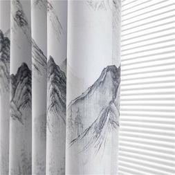 Thick Wavy Striped Kitchen Curtains Living Room Bedroom Curt