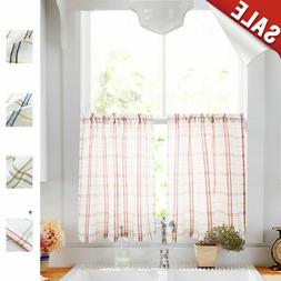 Tier Curtains for Kitchen Sheer Curtains Classic Buffalo Che