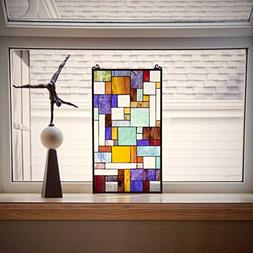 River of Goods 23-Inch Tiffany Style Stained Glass Mod Colla