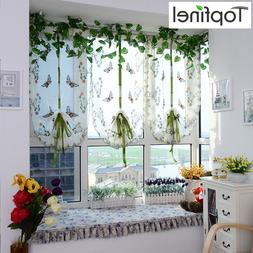Top Finel Butterfly Tulle for Window Roman Shades Window <fo