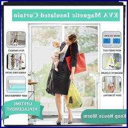 Transparent Magnetic Thermal Insulated Door Curtain Enjoy Yo