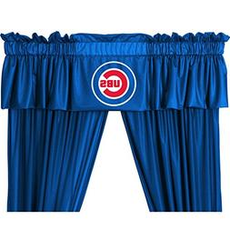 "Valance / Curtain panel "" Cubs"""
