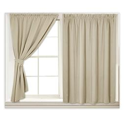 RYB HOME Blackout Window Shades for Kitchen Curtains, Cost S