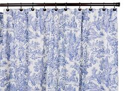 Ellis Curtain Victoria Park Cotton Toile Shower Curtain