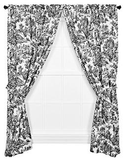 Victoria Park Toile 68-Inch-by-63 Inch Tailored Panel Pair w