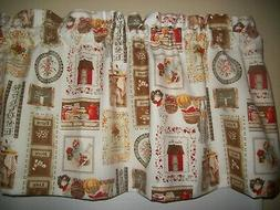 Vintage Antique dish Kitchen Farmhouse fabric home window to