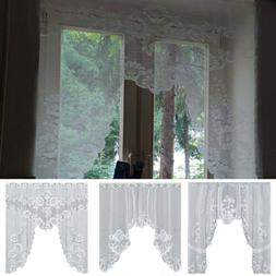 Vintage Style Lace Mesh Coffee Curtain Kitchen Curtains Livi