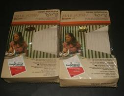 Vtg Adjustable Vanes Vertical cloth fabric Blinds By Newell