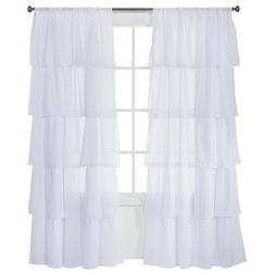 VTS Xhilaration Ruffle Curtain Panel -