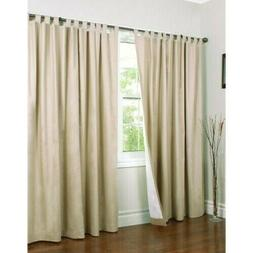 Thermalogic Weathermate Tab Top Double Width Curtain Panel -