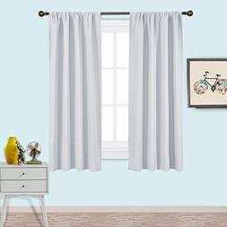 NICETOWN White Bedroom Curtain Panels - Window Treatment The