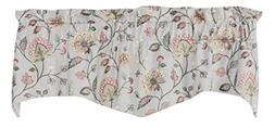 Manor Collection Whitehall Luxury Embroidered Valance Curtai