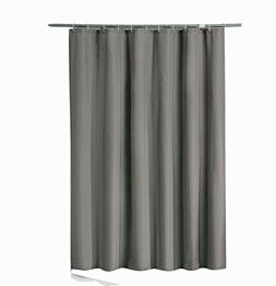 Sfoothome 72 Inch Wide x 72Inch Long Hotel Fabric Shower Cur