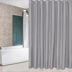 Eforcurtain Small Width Size 36 x 72-Inch Polyester Shower C